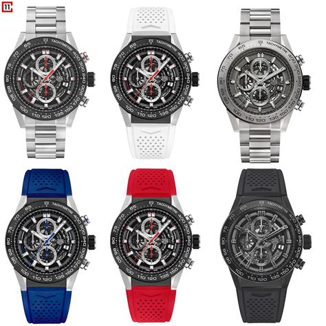 Tag Heuer Garde Rubber 2016 tag heuer heuer 01 collection the home of