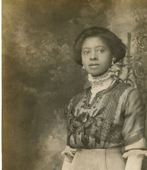 beautiful black edwardian lady rare old photo the
