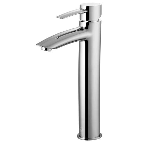 Bathroom Vessel Faucet by Shop Vigo Shadow Chrome 1 Handle Vessel Watersense