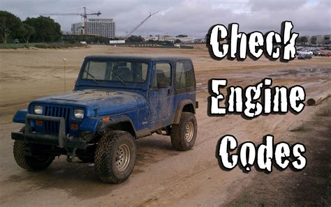 Jeep Check Engine Light Codes Retrieve And Diagnose Your Check Engine Codes On A Jeep