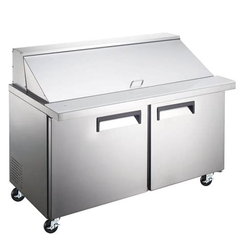 refrigerated sandwich prep table refrigerated salad sandwich prep table mega top 47 inches