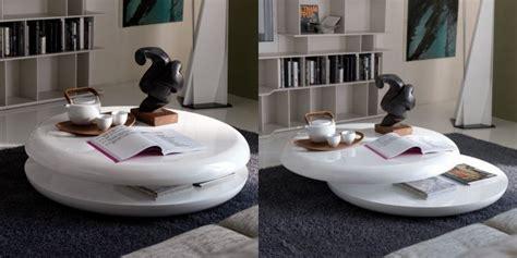 wohnzimmertische modern 317 table basse design en blanc brillant 30 id 233 es