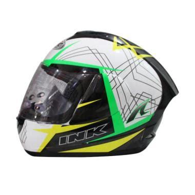 Helm Ink Cl Max 4 Black Fluo jual helm ink duke harga murah blibli