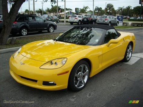 Yellow For Sale 2008 Chevrolet Corvette Convertible In Velocity Yellow