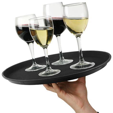 large round wine glasses
