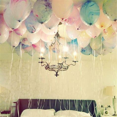 balloons in room birthday ideas ideas