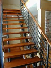 Outdoor Metal Handrails For Stairs Contempoary Stair Railing Modern Staircase Milwaukee