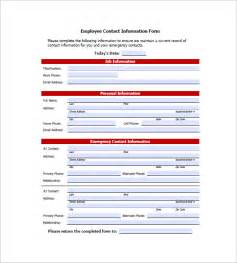 Contact Information Template Word by Contact List Template 10 Free Word Excel Pdf Format