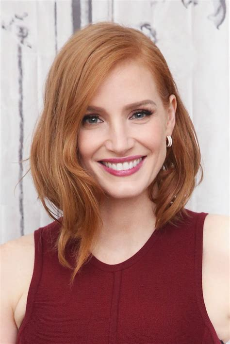 chastain hair color news chastain s past how to be more