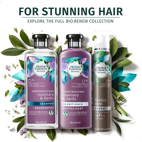 Herbal Bio herbal essences moisture rosemary herbs shoo