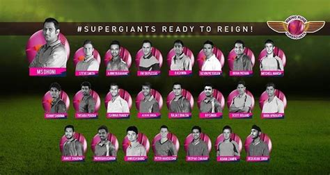 ipl 2017 team players rising pune supergiants rps ipl 2017 team squad players