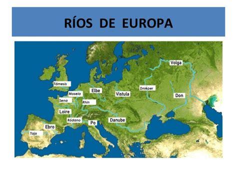 mapa rios navegables europa