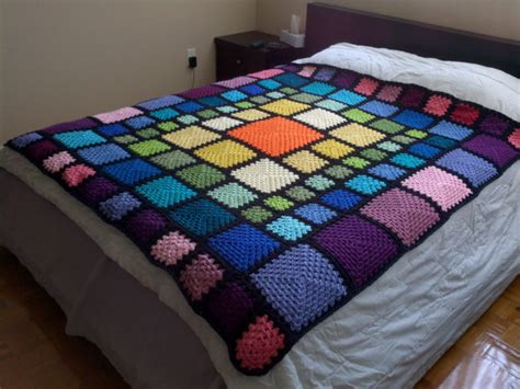 crochet pattern for queen size afghan items similar to custom crochet blanket queen size granny