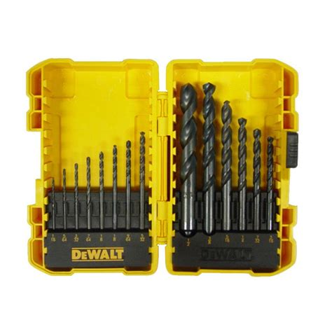 Drill Bit Set dewalt black oxide drill bit set 14 dwa1184 the