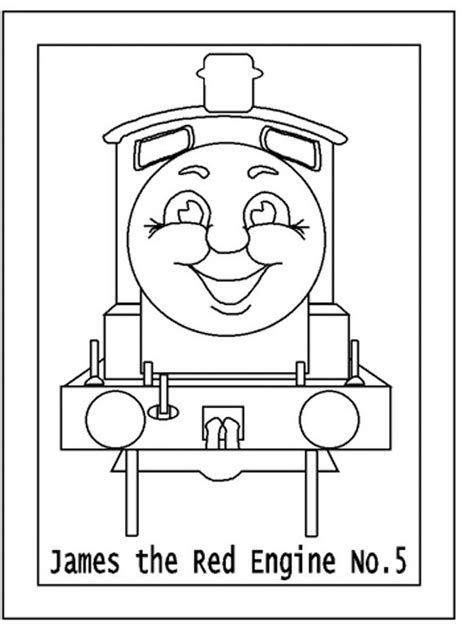 Thomas The Tank Engine Coloring Pages 8 Coloring Kids The Tank Engine Colouring Page