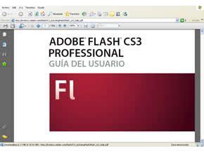 tutorial flash professional cs3 tutorial y manual de adobe flash cs3 professional gratis