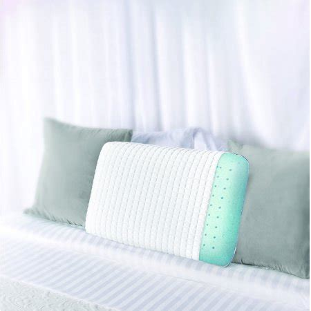 Gel Cover Pillow serenity cooling cover ventilated gel memory foam