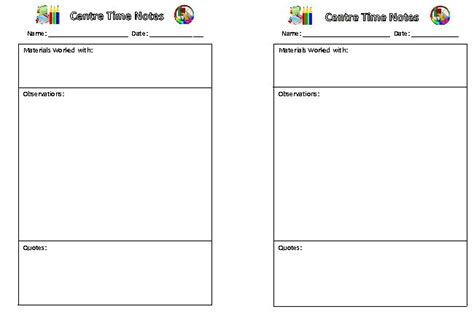 classroom observation form template best photos of printable observation forms for