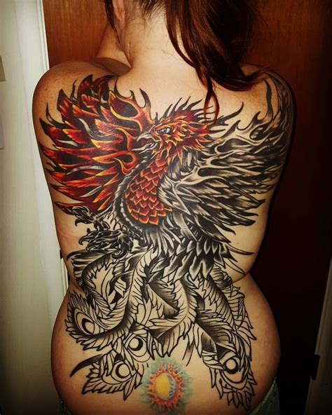 phoenix back tattoo designs 60 designs you need to see