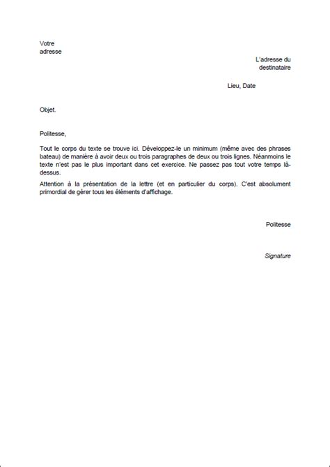 Exemple De Lettre De Demande De Stage Dans Un Hopital Modele D Une Lettre De Demande De Stage