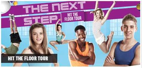 image hit the floor tour jpg the next step wiki