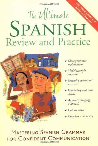 libro practising spanish grammar volume the ultimate spanish review and practice mastering
