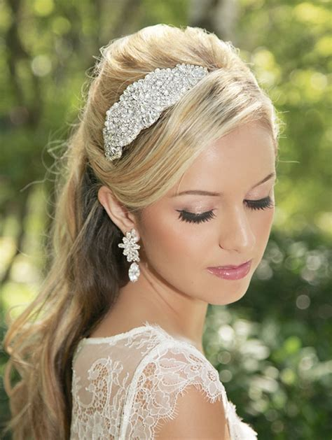 Vintage Bridal Hair Bands by Bridal Accessories Archives Weddings Romantique