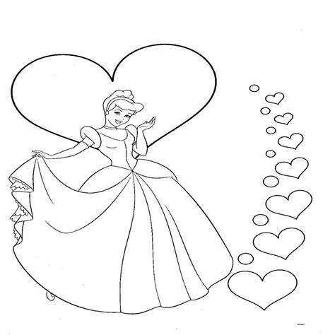 imagenes para pintar de princesas dibujos para colorear de la princesa cenicienta
