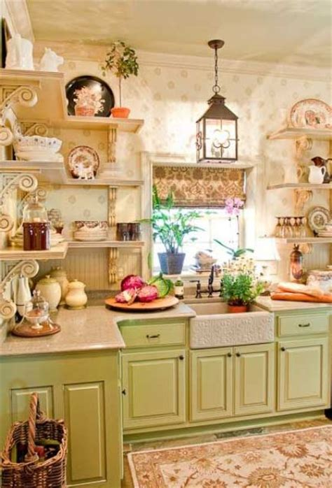 Kitchen Work Table Island 35 cozy and chic farmhouse kitchen d 233 cor ideas digsdigs
