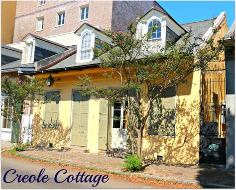 New Orleans Homes And Neighborhoods 187 Creole Cottages Were Cottages In New Orleans