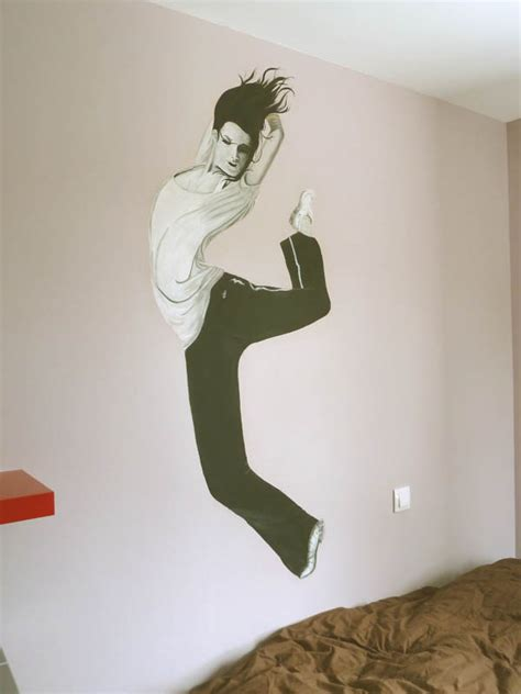 Incroyable Peinture Pour Chambre D Ado #9: trompe-l-oeil-peinture-murale-murevasion1.jpg