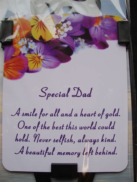 Verses For Dads Birthday Cards Memorial Quotes For Husband Quotesgram