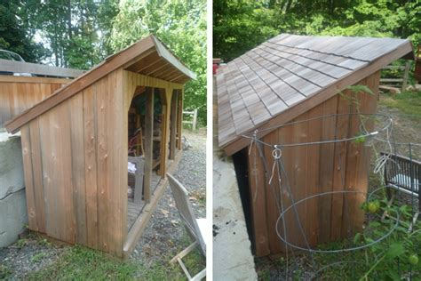 Lean To Wood Shed