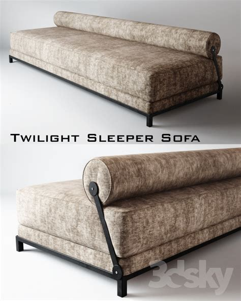 Twilight Sleeper Sofa 3d Models Sofa Twilight Sleeper Sofa