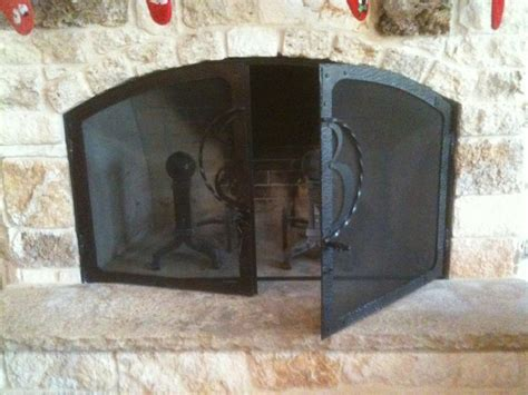 Monogrammed Fireplace Screen by Monogrammed Custom Fireplace Screen Cooper S Forge Inc