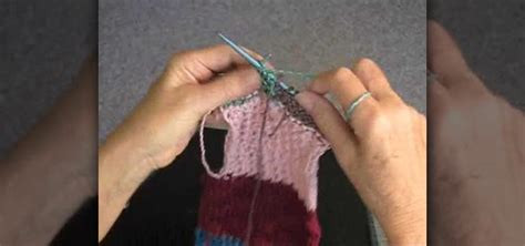 knitted cast on middle of row how to change colors in the middle of the row when