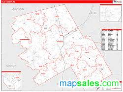 hill county map hill county tx zip code wall map line style by marketmaps