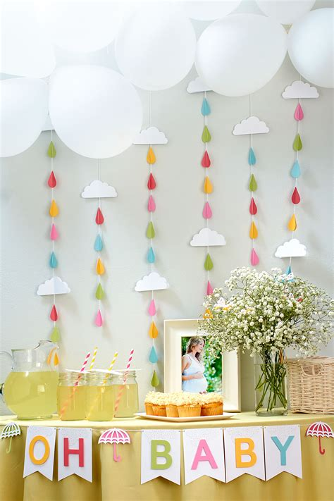 Baby Shower Decorations by Putting The Shower In Baby Shower Make It From Your