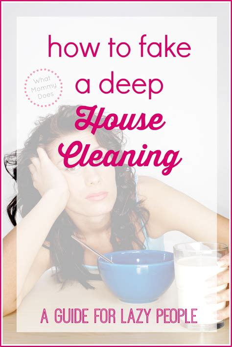cleaning for lazy people a crazy easy way to clean your house a guide for lazy