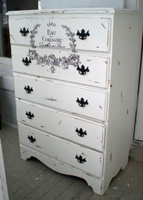 Boy Dresser White by Dresser High Boy Chest Shabby Script