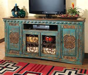 western furniture santa turquoise entertainment