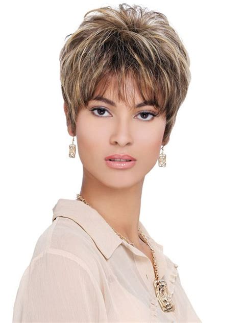 wigs for women over 50 with a round face pixie haircuts for women over 50 layered pixie wigs for
