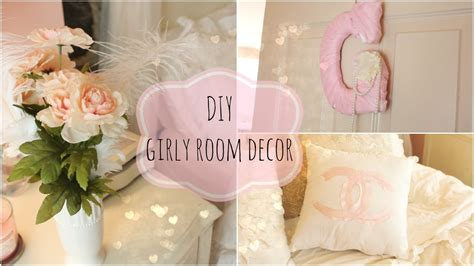How To Decorate My Room by Diy Girly Room Decor Youtube