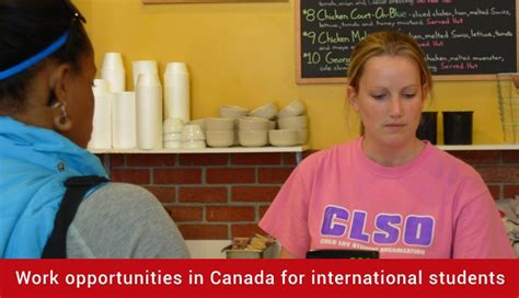 Mba Opportunity In Canada by Work Opportunities In Canada For International Students