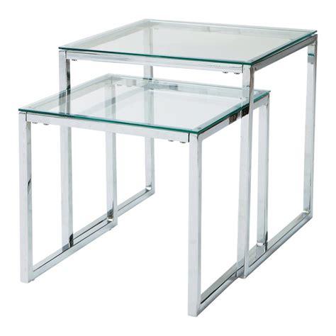 tavoli bassi tavoli bassi estraibili in vetro e metallo l 40 cm e l 45