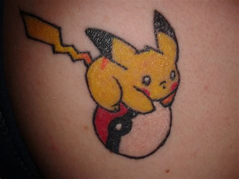 pikachu tattoo by jojo izumi on deviantart