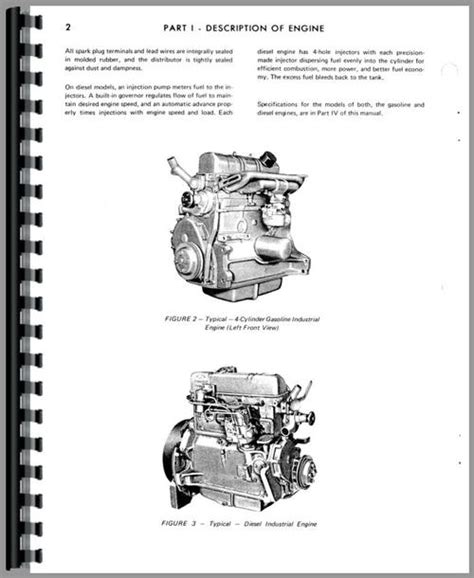 Hesston 300 Windrower Ford Engine Service Manual