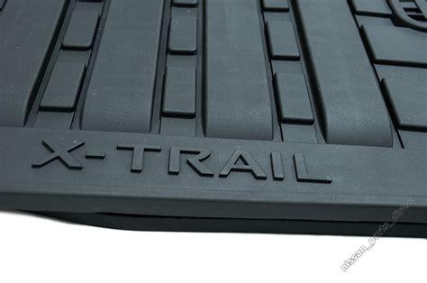 nissan all weather floor mats nissan genuine x trail t31 all weather floor mats rubber