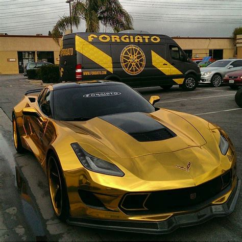 corvette stingray gold the mirage gold chrome wrapped stingay ezie wraps