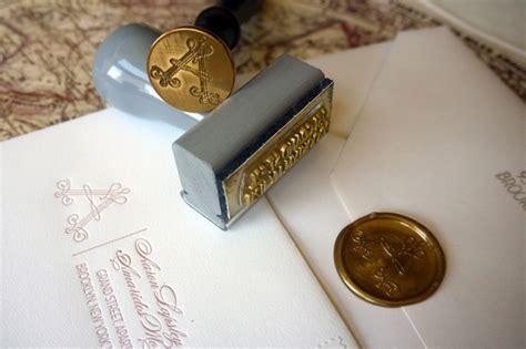 wedding invitation wax seal amarides aaron s wedding invitations